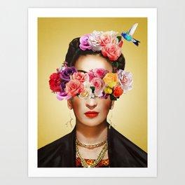FRIDA FLOWER Kunstdrucke