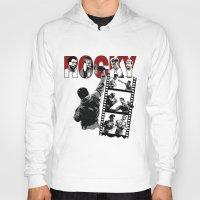 saga Hoodies featuring Rocky Saga by The Black Lodge
