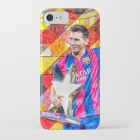 messi iPhone & iPod Cases featuring Messi by Cr7izbest