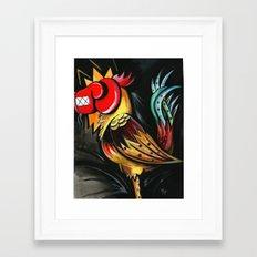 cockpunch Framed Art Print