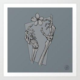 Au revoir sketch tribute Art Print