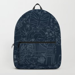 DC NYC London - Navy Backpack