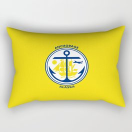flag of Anchorage Rectangular Pillow
