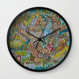 Borrego in many languages Wall Clock
