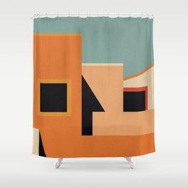 Summer Urban Landscape Shower Curtain