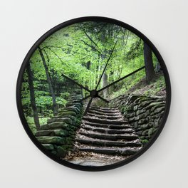 Stairway To Spring - Letchworth Wall Clock