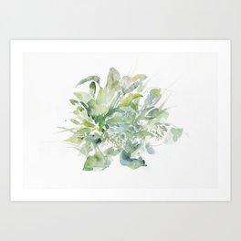 foglie II Art Print