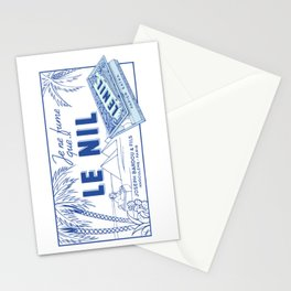 LE NIL rolling papers Stationery Cards