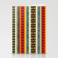 ethnic Stationery Cards featuring Ethnic by Katya Zorin