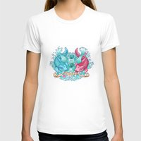 pisces T-shirts featuring Pisces by StudioBlueRoom