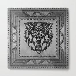 The Wolf Metal Print