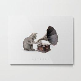 catence Metal Print