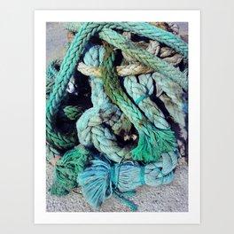 Malta Marina Art Print