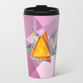 Tangled triangles Travel Mug