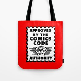 Approved by the Comics Code Tote Bag