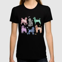 Poodles by Veronique de Jong T-Shirt