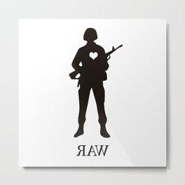 Raw Love Metal Print
