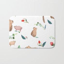 Capybara Bath Mat