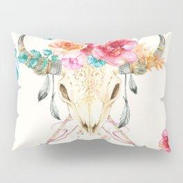 Classic Watercolor Boho Pillow Sham