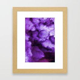 pastel cloud Framed Art Print