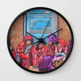 Muslim Children Wall Clock