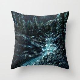 I Dream Of Snow Throw Pillow