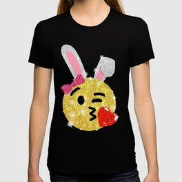 Easter Bunny Emoji Shirt T-shirt