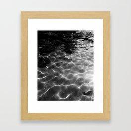 Ripple in Time Framed Art Print
