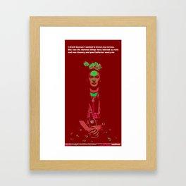 Mignone: Frida Framed Art Print