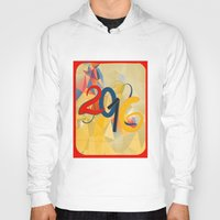 new year Hoodies featuring new year by luiza13