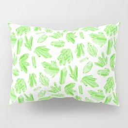 Crystals - Emerald Pillow Sham