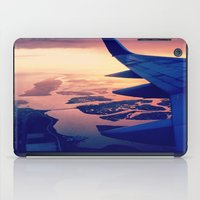 plane iPad Cases featuring Plane by Leah Galant