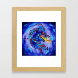 Glenfbach V1 - mystic dragon Framed Art Print