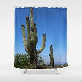 In The Sonoran Desert Shower Curtain