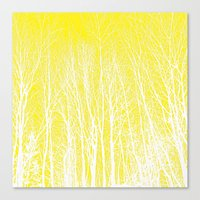 woodland Canvas Prints featuring woodland by  Agostino Lo Coco