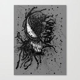 Venomistic Scribble Canvas Print