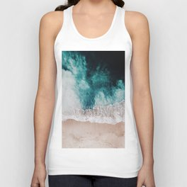 Ocean (Drone Photography) Unisex Tank Top