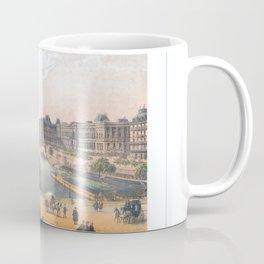 Paris art print Paris Decor office decoration vintage decor LAC BOIS BOULOGNE of Paris Coffee Mug