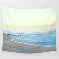 surfer Wall Tapestries featuring surfer by Paigefairman
