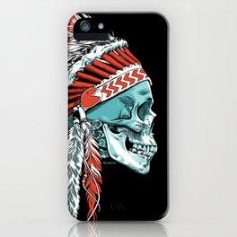 Skull Chief iPhone Case