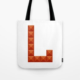 "Letter ""L"" print in beautiful design Fashion Modern Style Tote Bag"