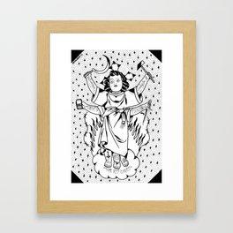 el divino niño Framed Art Print