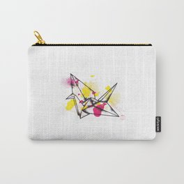 Origami Crane Explosion Carry-All Pouch