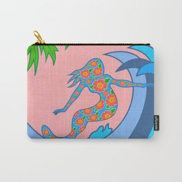 Girls Surf Too solid Carry-All Pouch