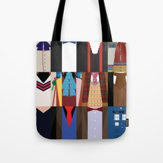The Doctors - Doctor Who & TARDIS Tote Bag