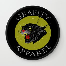 The Panther Wall Clock