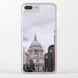 London Views #1 Clear iPhone Case