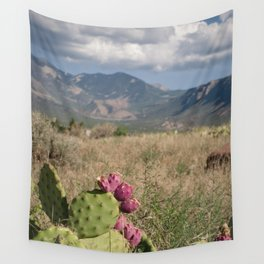 Where Desert Meets Mountains Wall Tapestry
