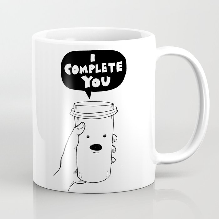 I Complete You Coffee Mug