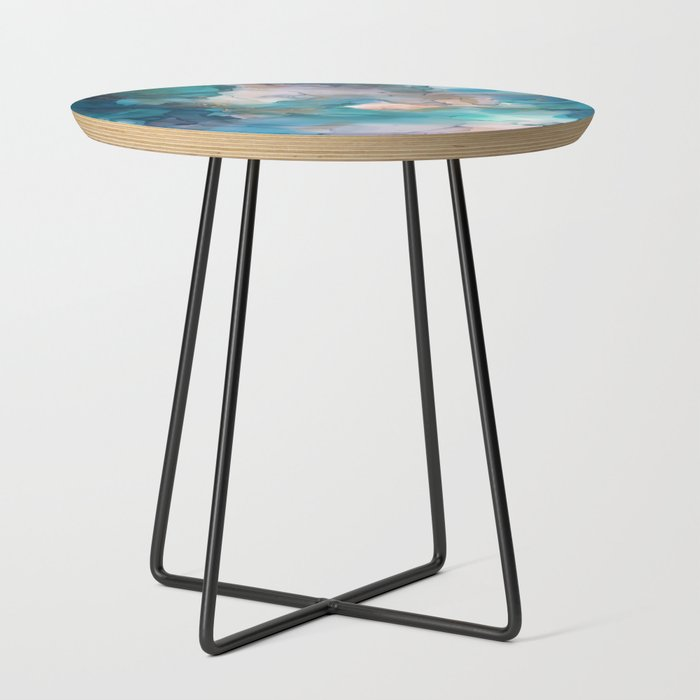 Fresca_Side_Table_by_Casey_Reif_Art___Black__Round
